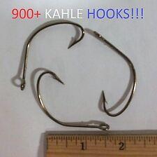 900+ Eagle Claw 6/0 Weedless Bronze Kahle Hooks (F151-6/0) EB180303