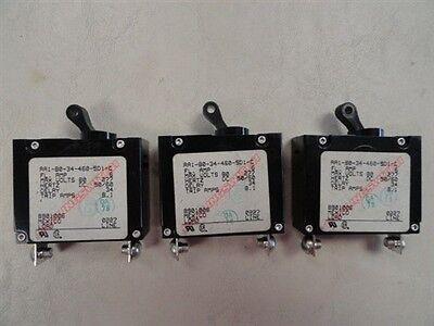 QUANTITY 3 6 AMP CIRCUIT BREAKER CARLINGSWITCH AA1-B0-34-460-5D1-C MARINE