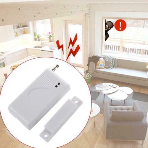 315//433Mhz Drahtlose Tür Fenstersensor Detektor Magnetkontakt Sicherheit Al L0B6