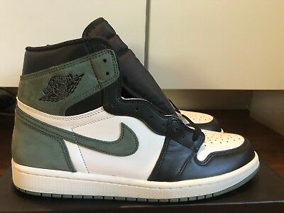 size 40 ff3bb c5041 Nike Air Jordan 1 Retro High Clay Green Size 10.5 BRAND NEW DEADSTOCK RARE!  | eBay