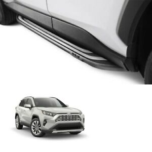 2019 2020 rav4 running boards with required rockers genuine toyota step boards ebay details about 2019 2020 rav4 running boards with required rockers genuine toyota step boards