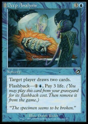Torment *Flashback Draw Two Cards* MTG 4x DEEP ANALYSIS