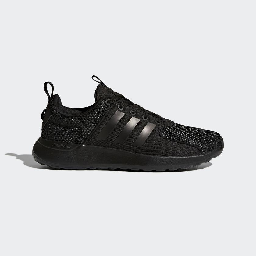 Adidas Neo Women Comfort shoes Cloudfoam Lite Racer Walcking Black AW4023 New