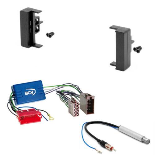 Carav 11-005-a-12 auto radio diafragma activamente adaptador para audi a2 a3 a4 a6 4b b5 DIN