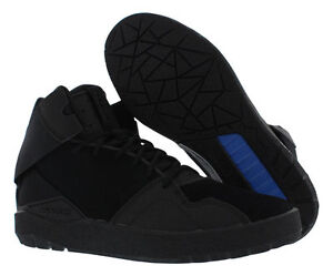 separation shoes fd790 e2629 Image is loading ADIDAS-Originals-Crestwood-Mid-top-all-BLACK-basketball-