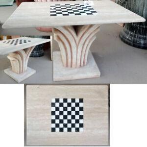 Tavolino Da Salotto Piano Scacchiera In Marmo Arredo Tavolo Sala