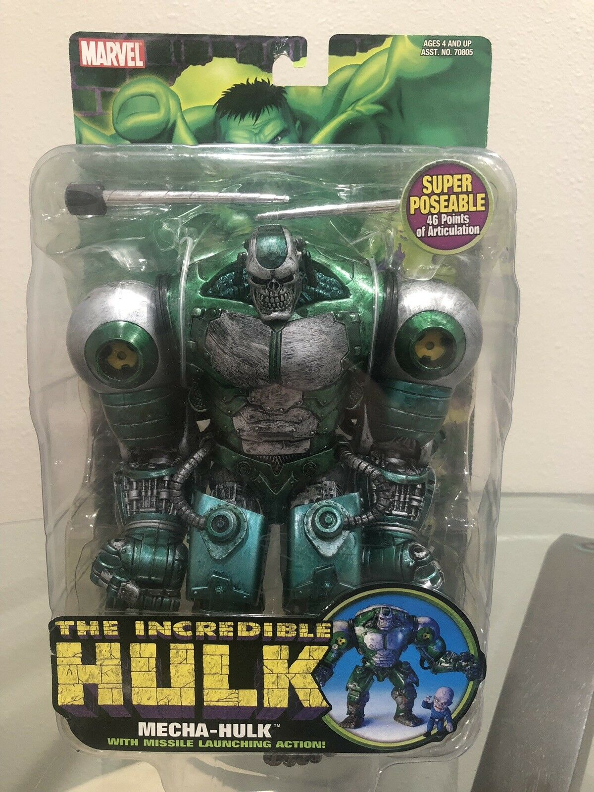 Marvel Legends Mecha Hulk Toy Biz  SUPER RARE