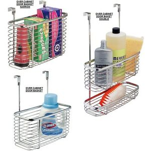 over cabinet basket under sink kitchen cupboard door craftionary