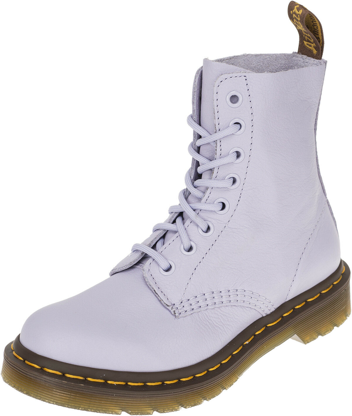 Dr. Martens pascal 8-eye Purple Heather botas botas zapatos rockabilly