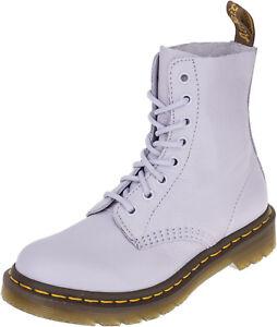 Dr. Martens PASCAL 8-Eye PURPLE HEATHER Boots STIEFEL Schuhe Rockabilly