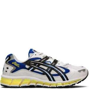 Asics-Men-039-s-Gel-Kayano-5-360-White-Black-Running-Shoes-1021A159-100