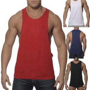 f42773ede Fashion Men Gym Muscle Singlet Tank Top Bodybuilding Workout Sport ...