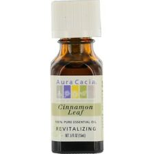 Essential Oils Aura Cacia Cinnamon Leaf-Essential Oil .5 oz