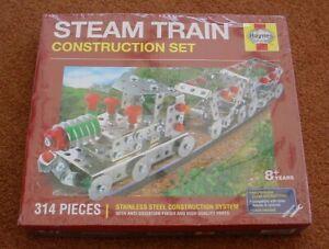 Bien Haynes Train à Vapeur Construction Set Métal Acier Inoxydable Pièces Nouveau & Sealed-afficher Le Titre D'origine