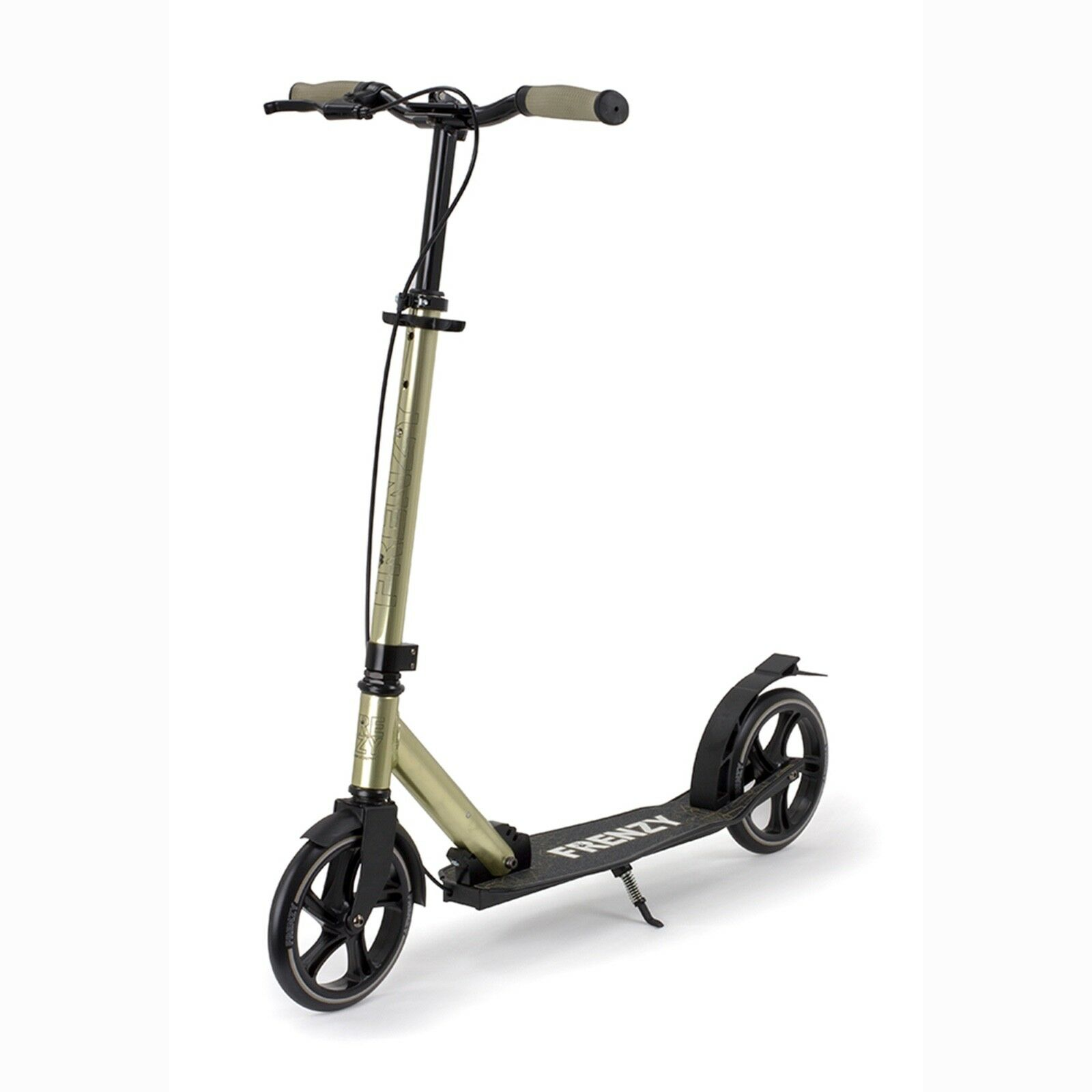Frenzy Scooters Dual Brake Plus Recreational Scooter 205mm, Champagne