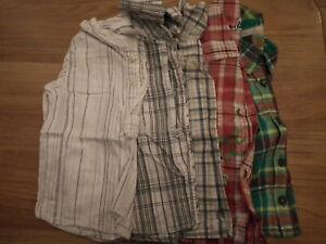 Baby Boy Clothes, Chemises, Faisceaux, Taille: 6-9 Mois, 5 Objets (148)-afficher Le Titre D'origine