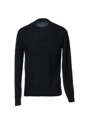 ANDREA FENZI Pullover in lana lavorazione intrecciato SCONTATO