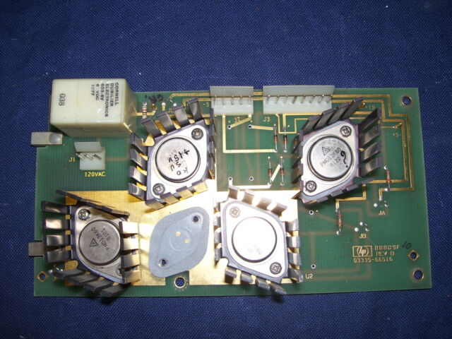 Synthesizer/Level Generator HP 3335A -modulo finale di alimentazione 88809F-