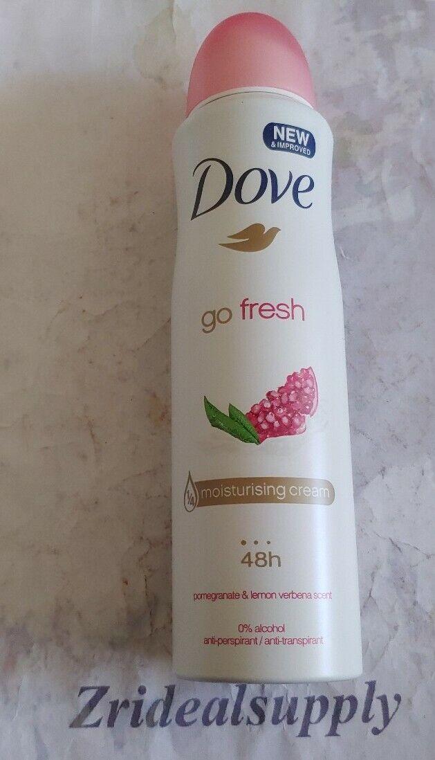 Dove Go Fresh Revive Pomegranate Lemon Verbena Scent Clean Body Mist Spray 89 Ml For Sale Online Ebay