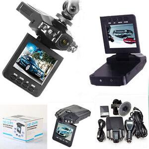 MINI-DVR-TELECAMERA-PER-AUTO-VIDEOREGISTRATORE-HD-MONITOR-LCD-2-5-034-VIDEO-6-LED