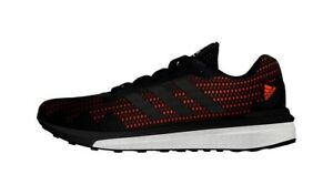 Details about NEW Adidas BOOST Vengeful Running Shoe Men's 9.5 ORANGE BLACK