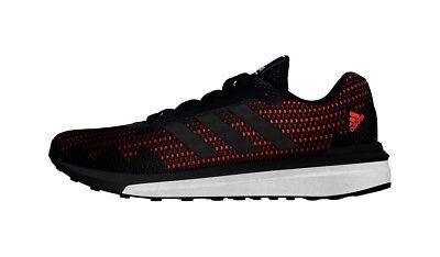 NEW Adidas BOOST Vengeful Running Shoe - Men's 9.5 ORANGE BLACK | eBay