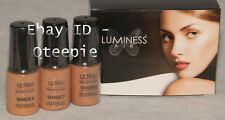 LUMINESS AIR - Airbrush Makeup - 3 pc TAN Shades #6 #7 #8 Foundation COMBO *NEW
