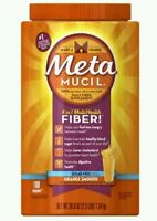 Metamucil Multi-health Fiber By Meta, Orange Smooth Sugar Free 180 Doses 36.8 Oz