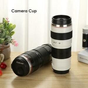 400ml-Camera-Lens-Bottle-Thermos-Shaped-Stainless-Coffee-Mug-Cup-w-Drinking-Lid