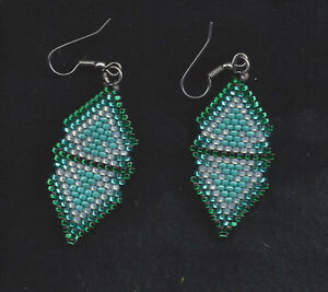 Double-Diamond-Earrings-by-Shirley-Nelson-Navajo