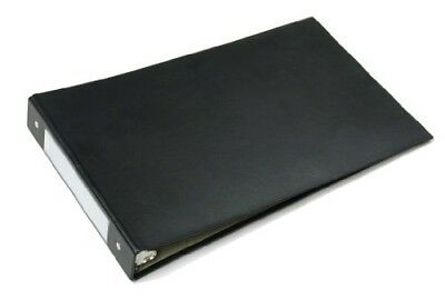 LOT OF 32 PCS SKILCRAFT 3 RING LEGAL//CHECKBOOK BINDERS BLACK FOR 8.5 x 14 PAPER