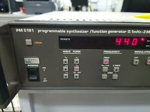 Philips-PM-5191-Programmable-Synthesizer-Function-Generator-TESTED