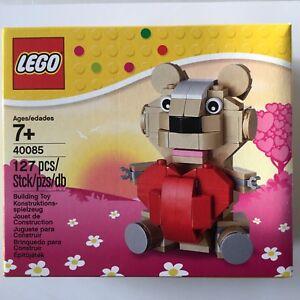 Lego 40085 Valentine Bear - Nouveau Et Ovp