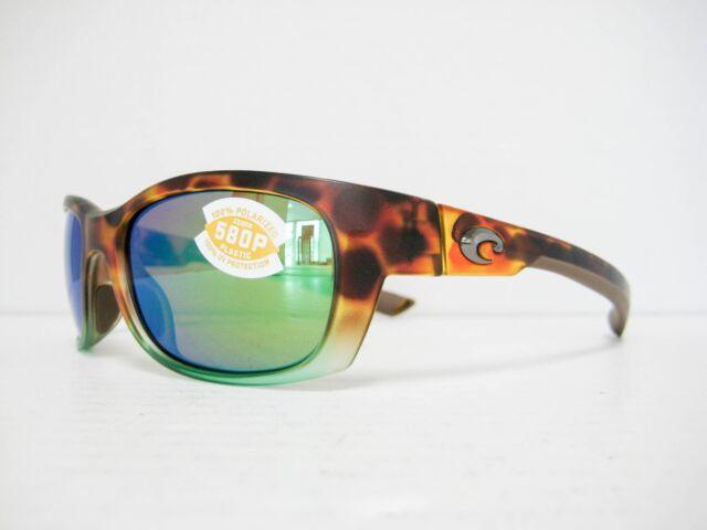 5cf867a180 new Costa Del Mar TREVALLY Sunglasses TORTUGA FADE GREEN 580P GT 77 OGMP