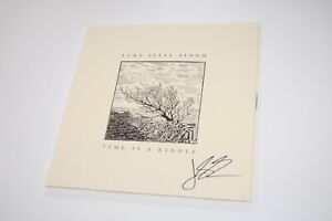 Luke Sital-Singh - Time Is A Riddle SIGNED/AUTOGRAPHED Vinyl/Record LP