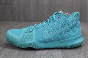 24 Rare Nike Kyrie 3 Aqua Mens