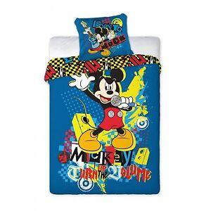 Disney Mickey Mouse Micky Maus Bettwäsche 160x200 NEU ÖkoTex ...