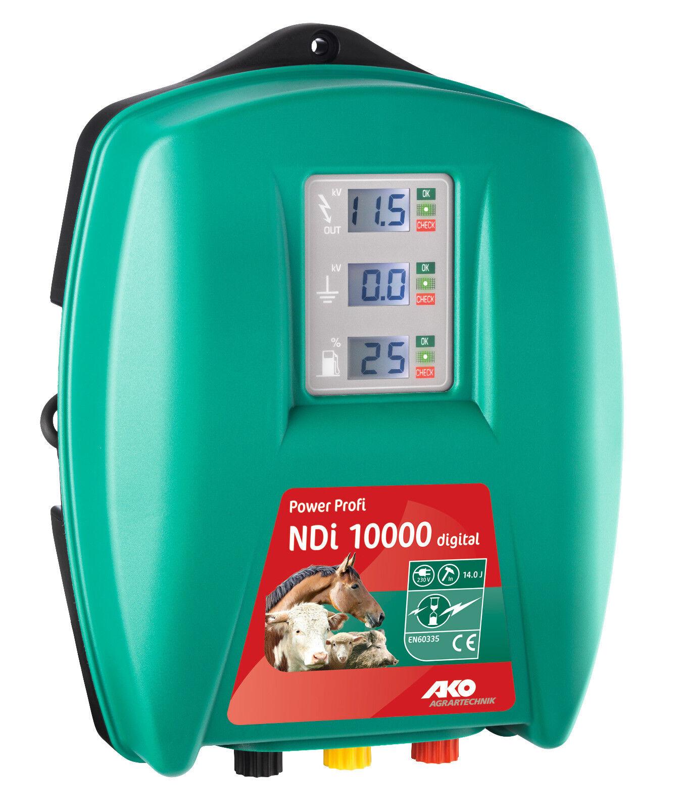 AKO Power ndi Profi 10000, 230 Volt, digitale, weidezaun dispositivo