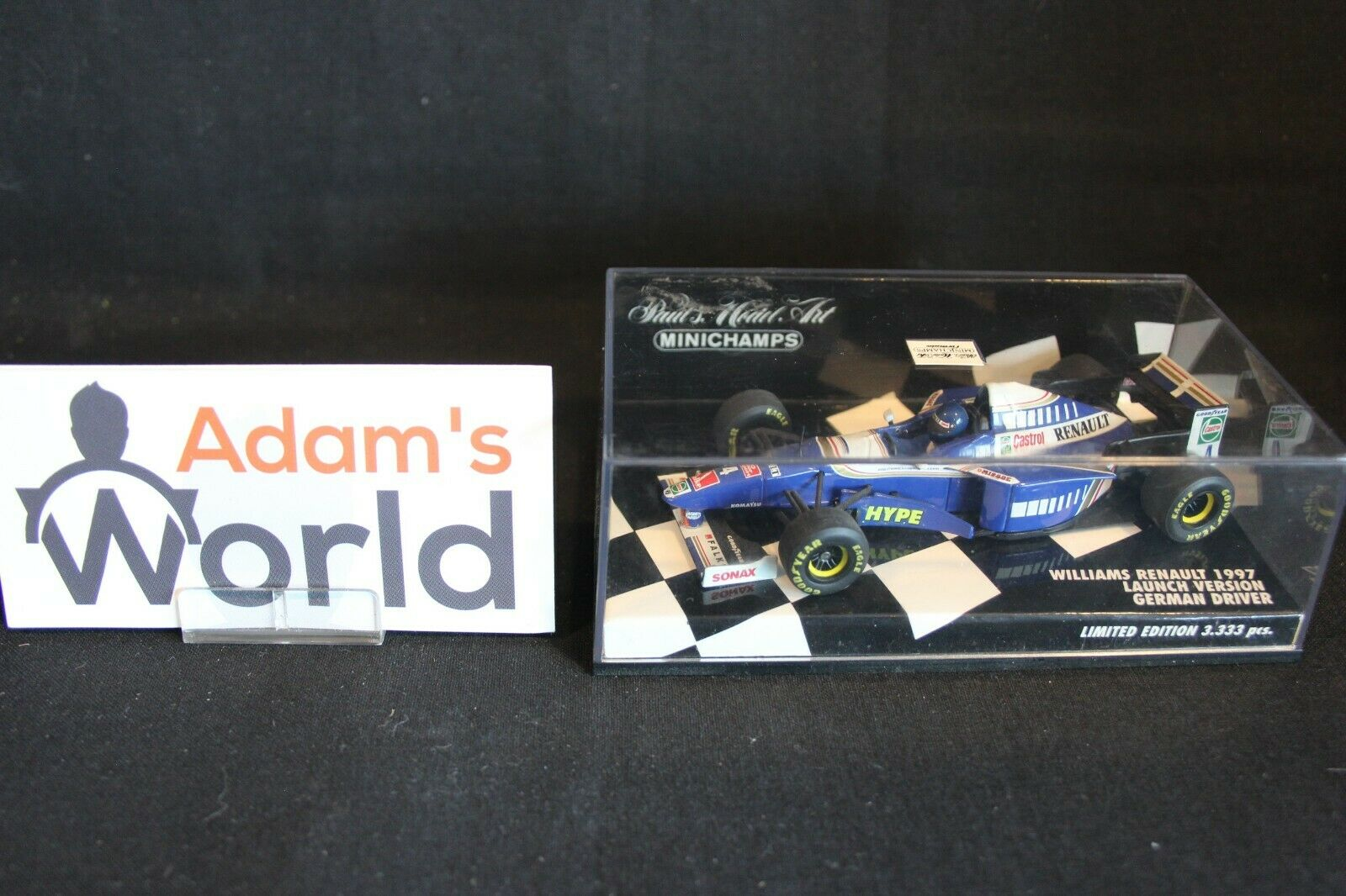 Minichamps Williams Renault Showcar 1997 1 43 43 43 German Driver (RG) fe6dac