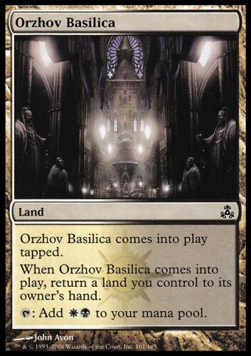 MTG Magic Basilique d/'OrzhovOrzhov Basilica    VO X4 NM//EX