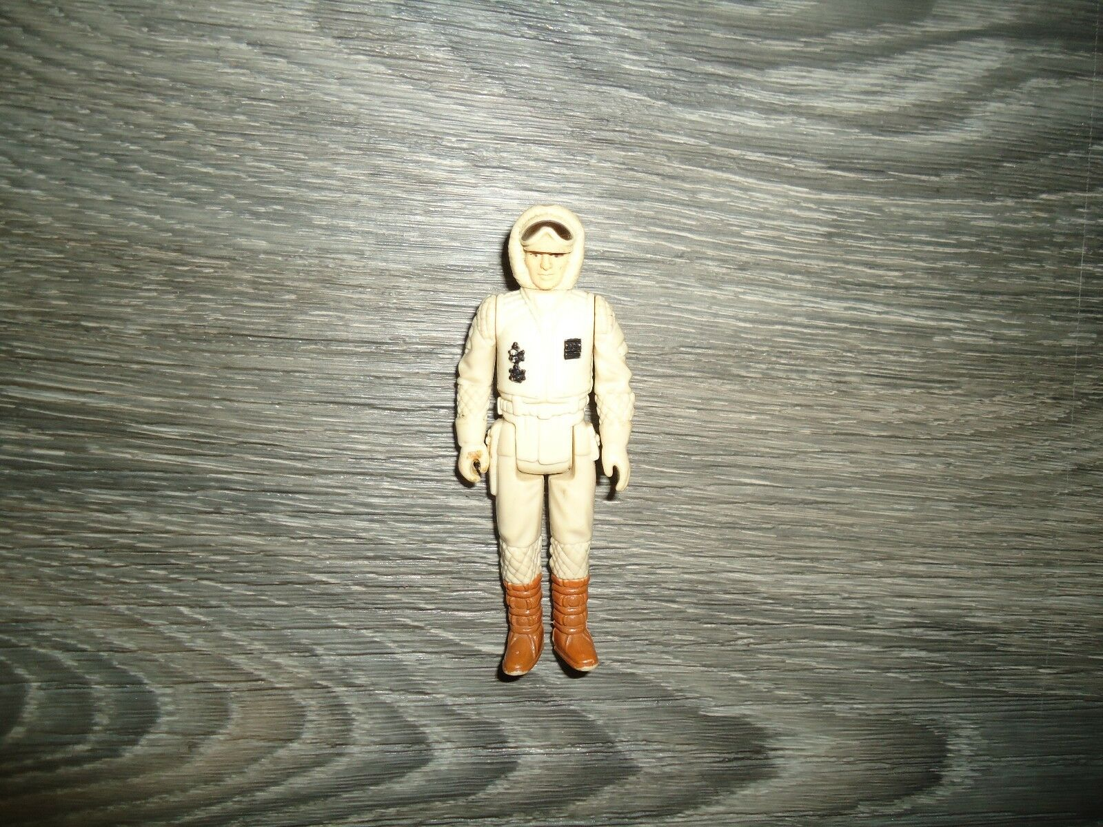 100% Vintage Kenner Original Star Wars Hoth Han Solo erreur error Action Figure