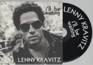 Lenny-Kravitz-I-039-ll-Be-Waiting-CD-PROMO