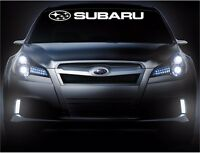 Subaru Front Windshield Vinyl Decal Banner Car Decals Sticker Stickers 1 Logo