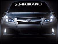 Subaru Front Windshield Vinyl Decal Banner Car Decals Sticker Stickers 1 Logo