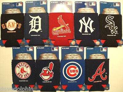 Can Bottle Koozie Cozy Cooler MLB Baseball Neoprene. Choose team. New/unused