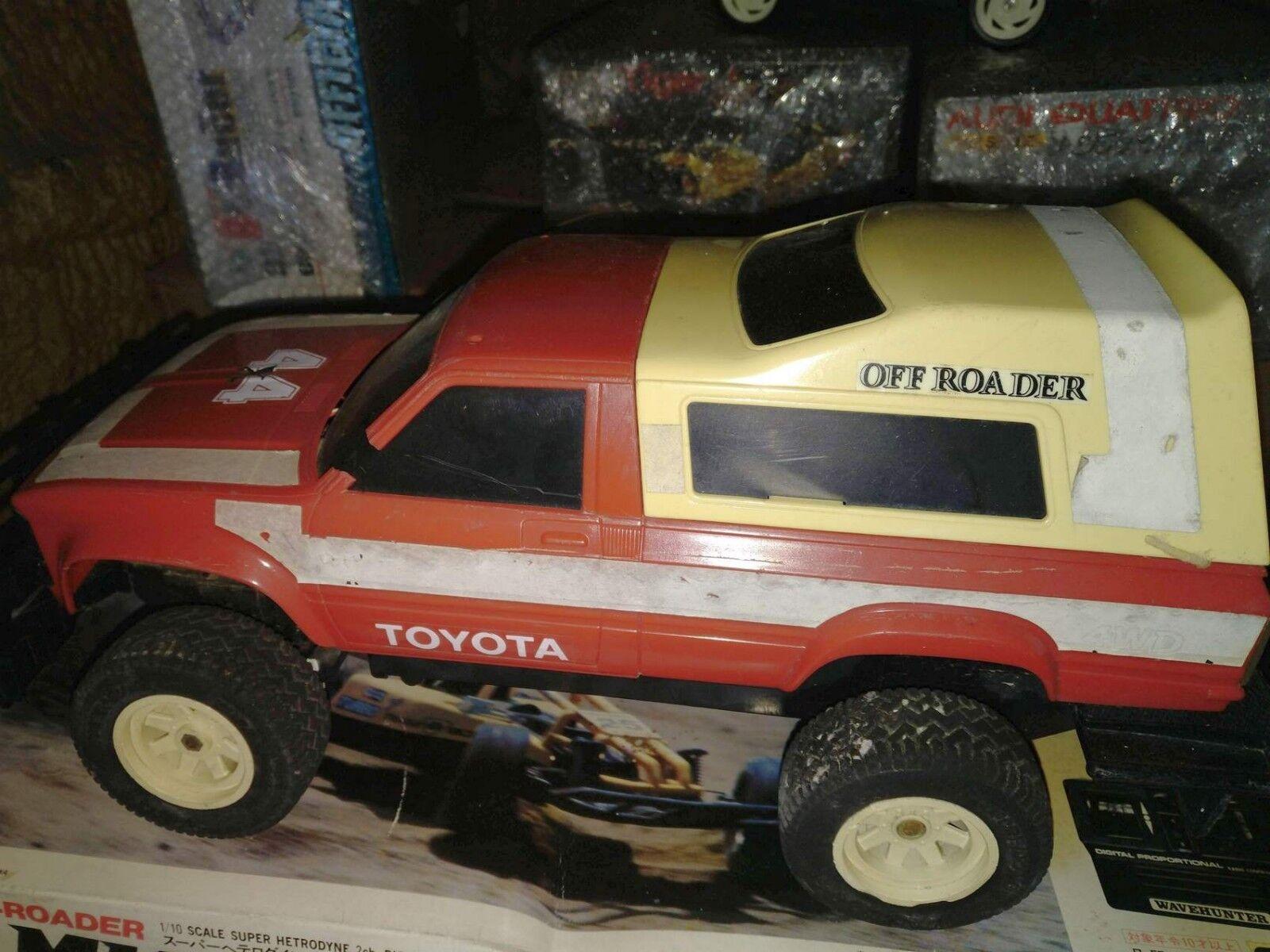 1 10 NIKKO Toyota Hilux Big Joker vintage rare 1982 Tronico oroen Wind