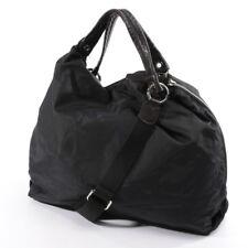 FURLA Handtasche Schwarz Damen Tasche Bag Sac Schultertasche Purse Tragetasche