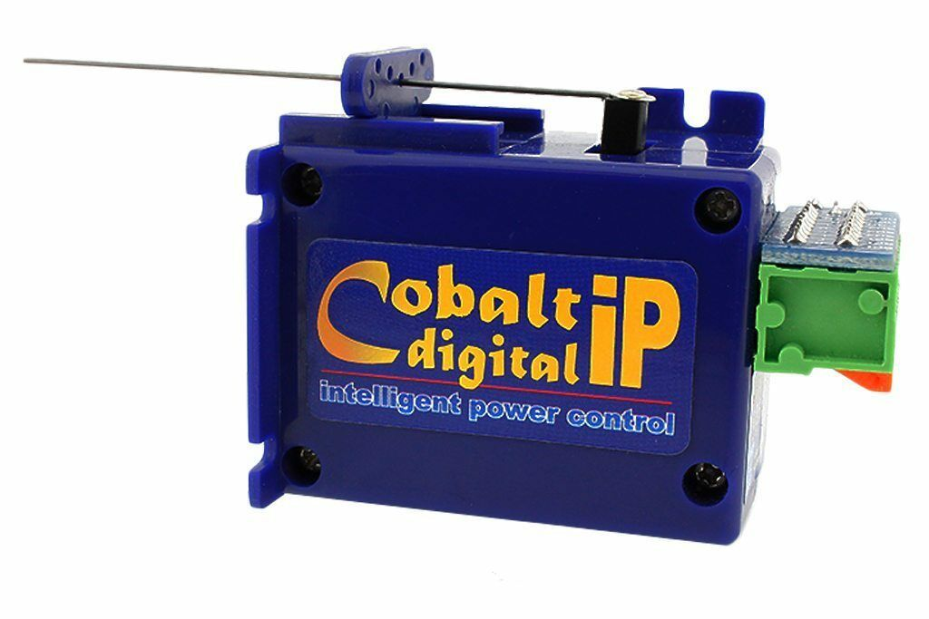 DCC Concepts Dcp-Cbdip 3 x Cobalto Ip Lenta Azione Digital Punte Motore - T48