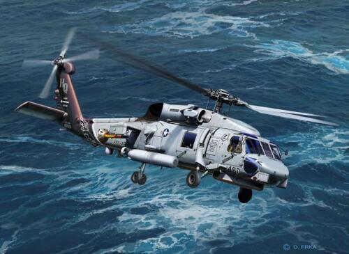 Neu Revell 04955-1//100 Sh-60 Navy Helicopter