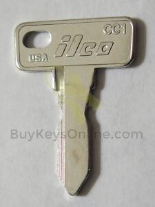 Ilco-CC1-key-for-Club-Cart-Precedent-golf-carts-NEW-factory-cut-FAST-shipping